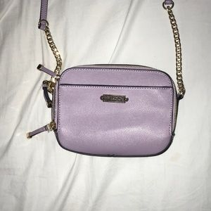 ALDO lilac crossbody hand bag.